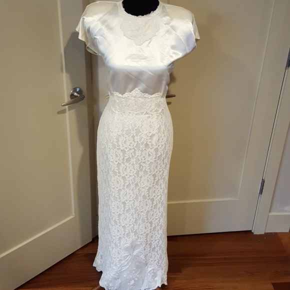 Vintage Dresses | 1970 Wedding Gown | Poshmark